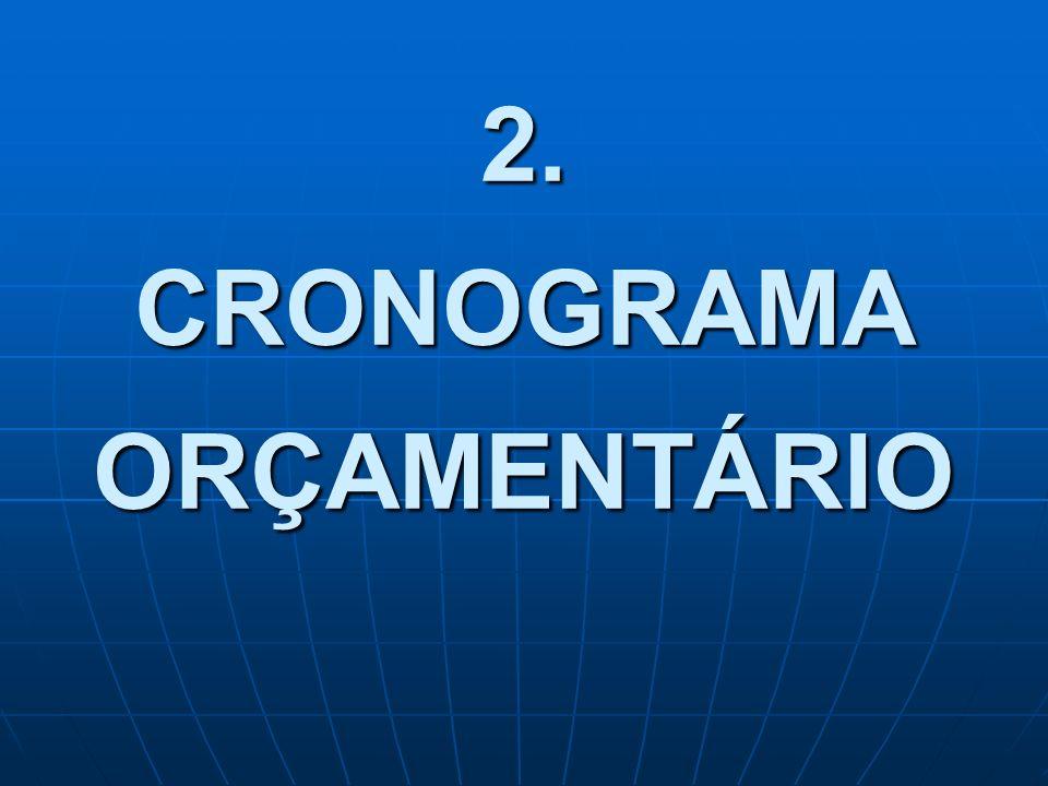 2. CRONOGRAMA ORÇAMENTÁRIO