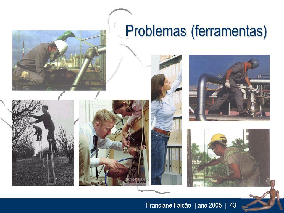 Franciane Falcão   ano 2005  43 Problemas (ferramentas)