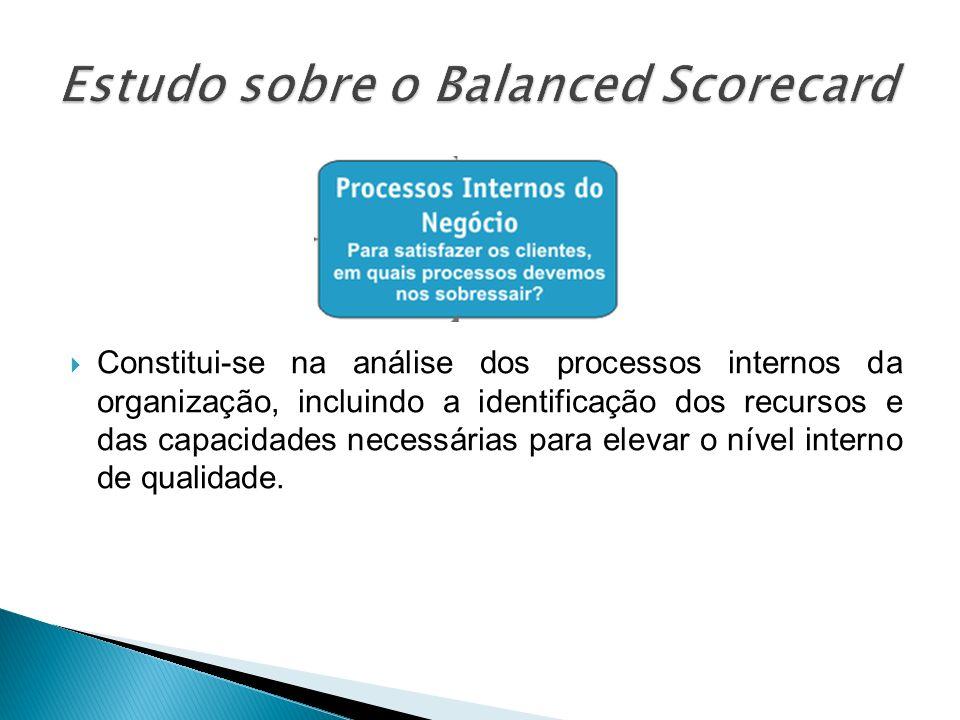 Constitui-se na análise dos processos internos da organização, incluindo a identificação dos recursos e das capacidades necessárias para elevar o níve