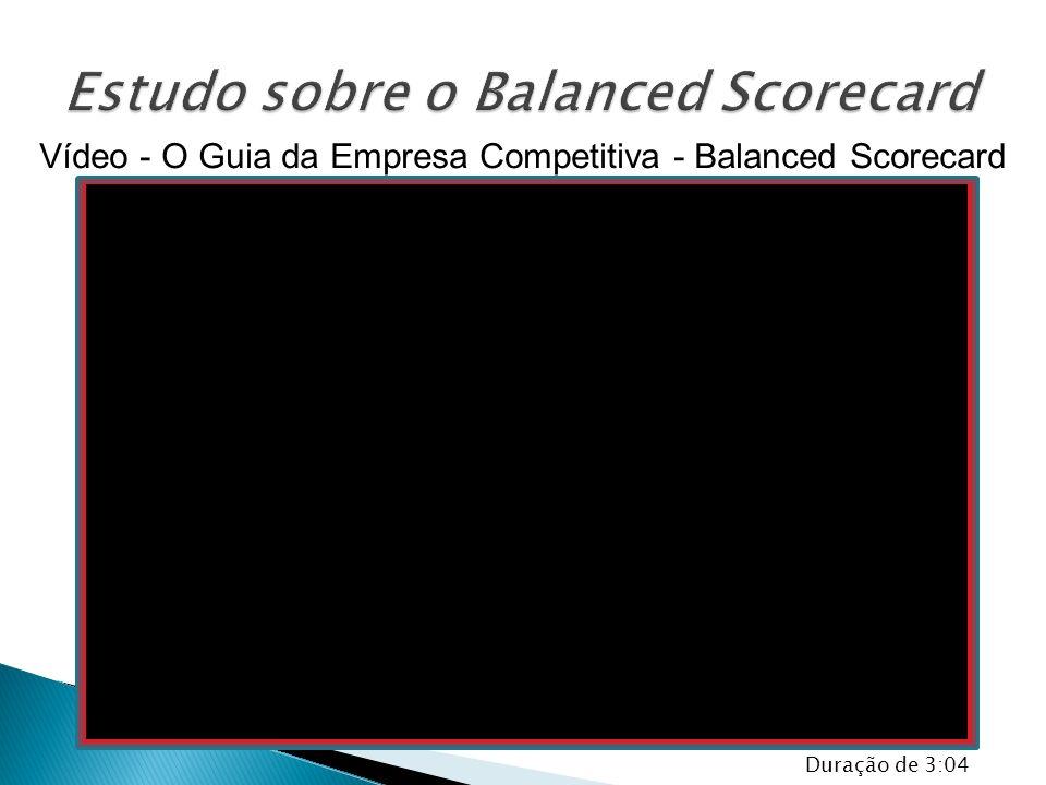 Vídeo - O Guia da Empresa Competitiva - Balanced Scorecard Duração de 3:04