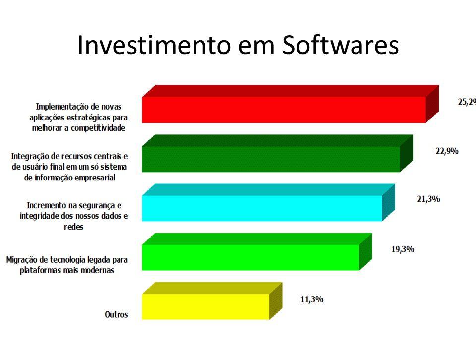Investimento em Softwares