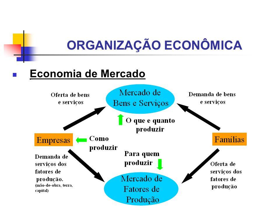 ORGANIZAÇÃO ECONÔMICA Economia de Mercado
