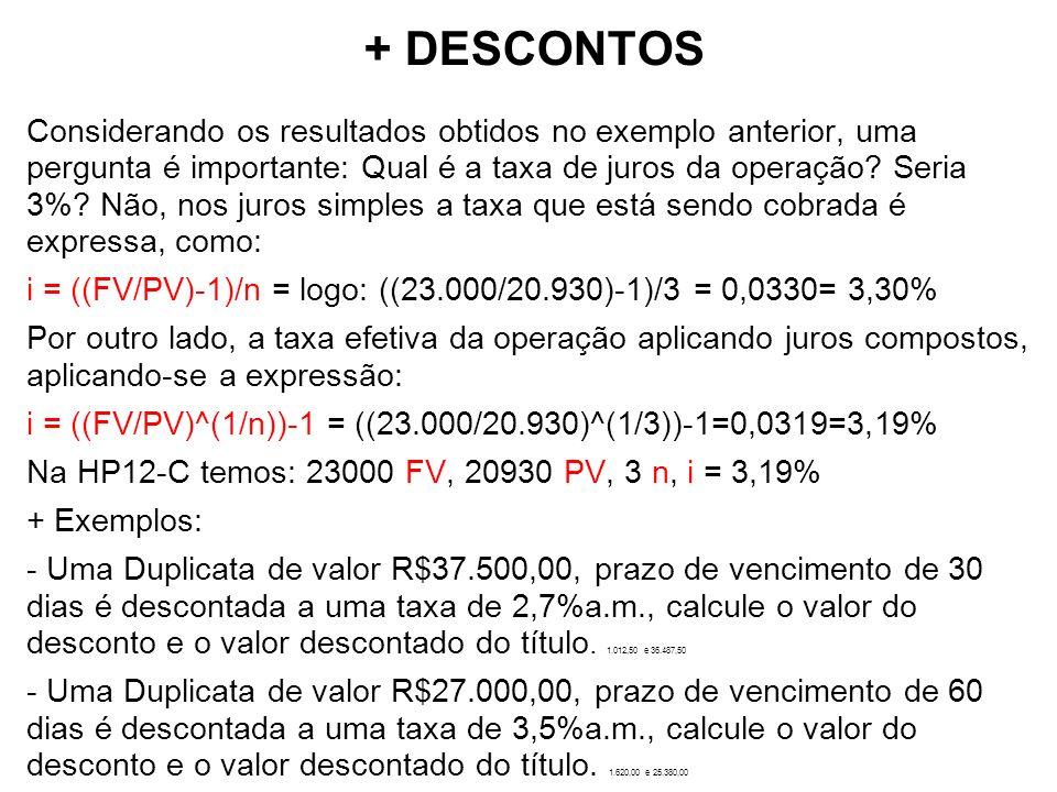 Sistemas de Amortização Sistema de amortização constante - SAC Neste sistema, as prestações são decrescentes, as amortizações constantes e os juros decrescentes.