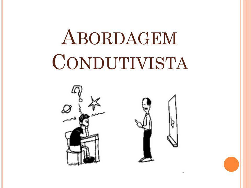 A BORDAGEM C ONDUTIVISTA