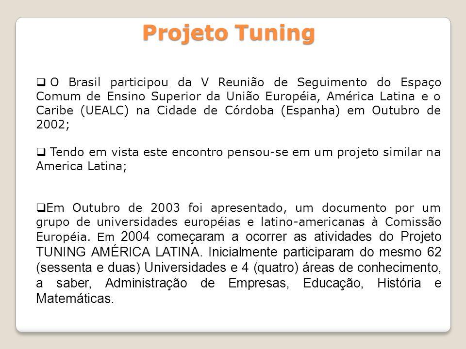 O Brasil participou da V Reunião de Seguimento do Espaço Comum de Ensino Superior da União Européia, América Latina e o Caribe (UEALC) na Cidade de Có
