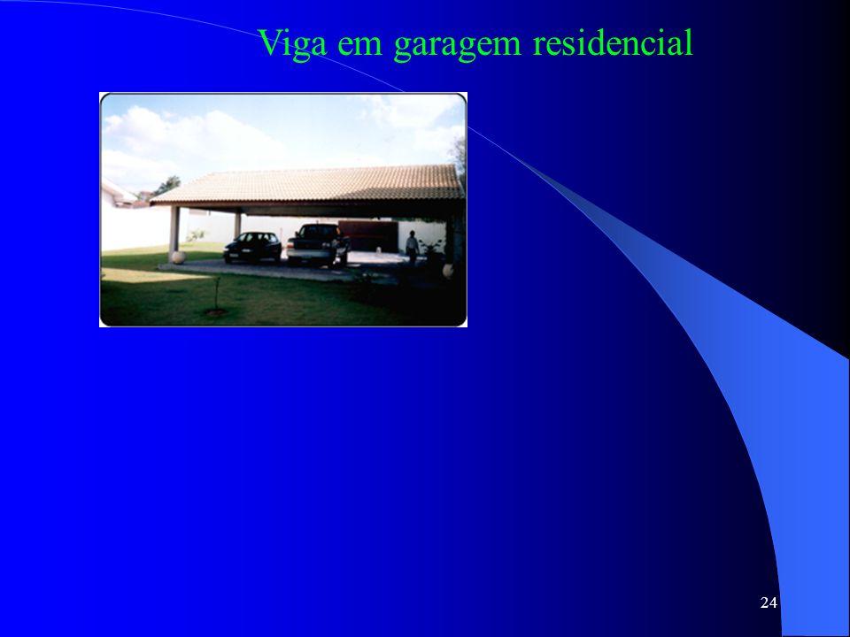 24 Viga em garagem residencial