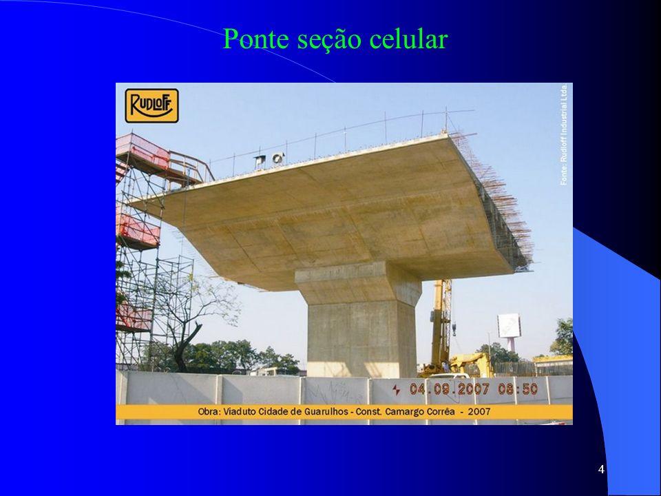 4 Ponte seção celular