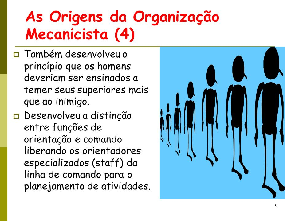 50 Organizações como cérebros processadores de Informações