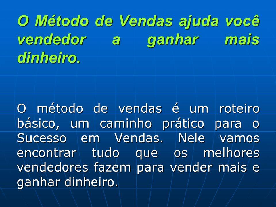 O Método de Vendas não é um documento teórico.