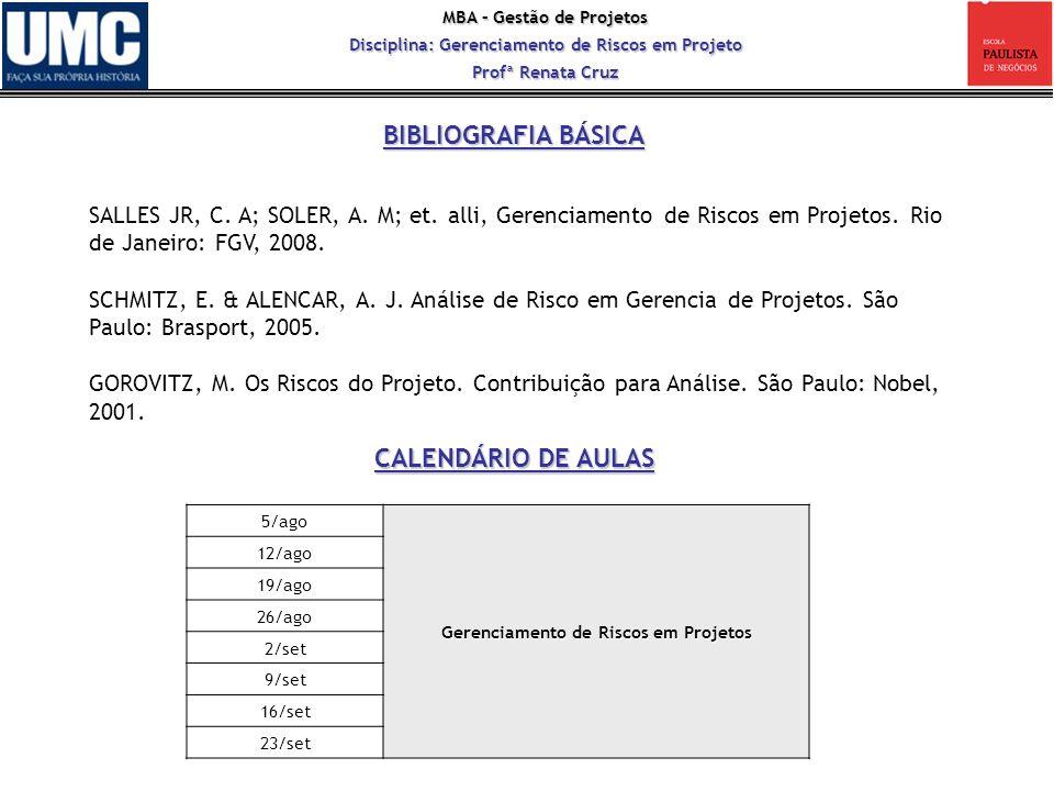 MBA – Gestão de Projetos Disciplina: Gerenciamento de Riscos em Projeto Profª Renata Cruz Francis Galton (1822-1911) contribuiu notavelmente para a administração do risco.