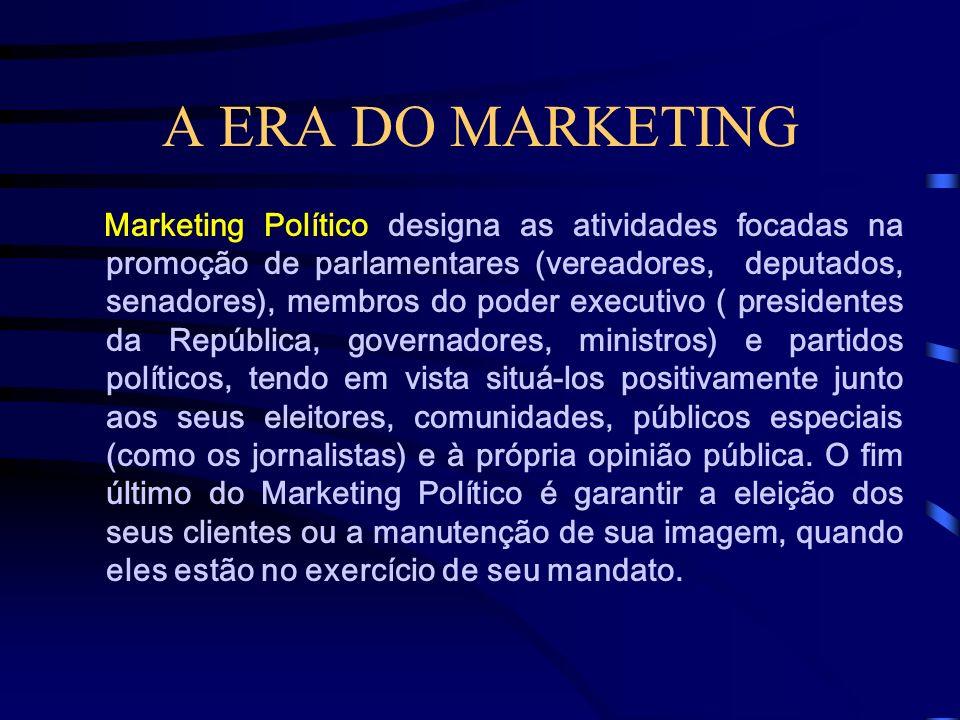 A ERA DO MARKETING Marketing Educacional é o esforço de posicionamento/comunicação desenvolvido por instituições de ensino (colégios, universidades, f