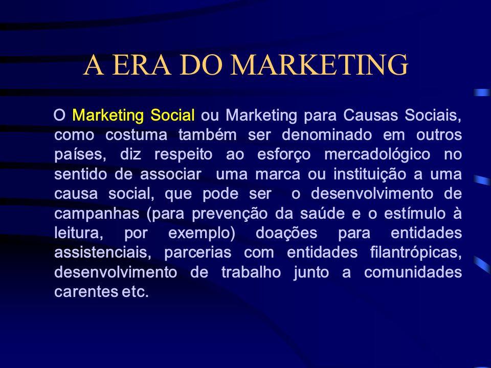 A ERA DO MARKETING Marketing Político designa as atividades focadas na promoção de parlamentares (vereadores, deputados, senadores), membros do poder
