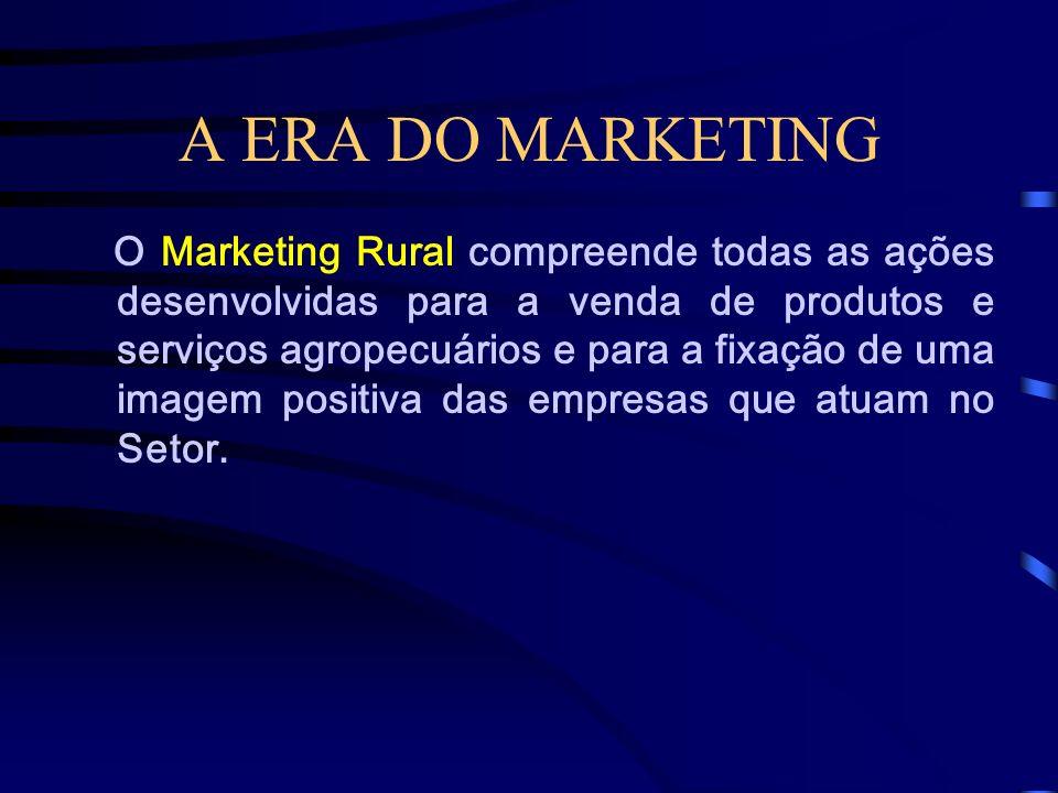 A ERA DO MARKETING O Marketing de Relacionamento representa uma nova postura na interação entre uma empresa ou entidade e seus clientes. Até a metade