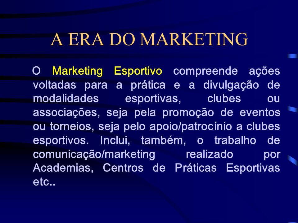 A ERA DO MARKETING O Marketing Rural compreende todas as ações desenvolvidas para a venda de produtos e serviços agropecuários e para a fixação de uma