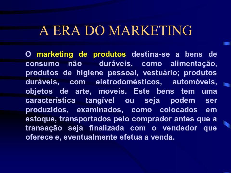 A ERA DO MARKETING Definitivamente, a finalidade básica do marketing jurídico é criar e conservar clientes, diferenciar o escritório dos concorrentes