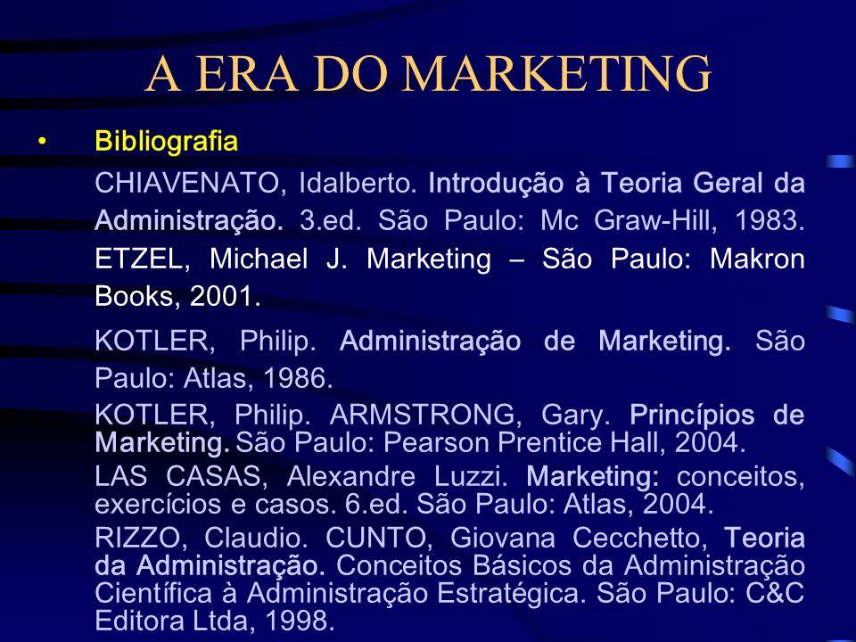 A ERA DO MARKETING Marketing de serviços como as atividades operacionais destinadas a investigar, obter e servir a demanda por assistência profissiona