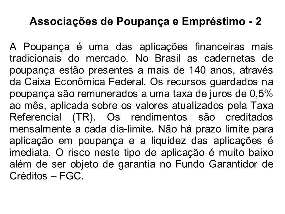A Poupança é uma das aplicações financeiras mais tradicionais do mercado. No Brasil as cadernetas de poupança estão presentes a mais de 140 anos, atra