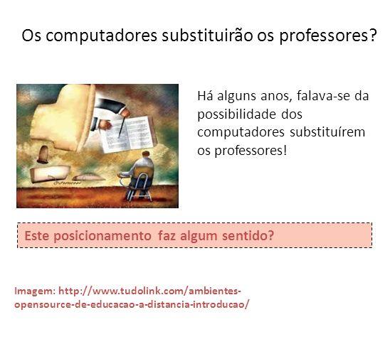 Os computadores substituirão os professores? Há alguns anos, falava-se da possibilidade dos computadores substituírem os professores! Este posicioname