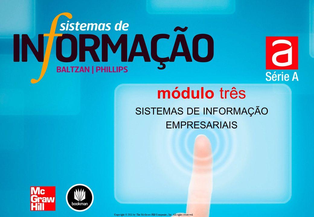 Copyright © 2011 by The McGraw-Hill Companies, Inc. All rights reserved. módulo três SISTEMAS DE INFORMAÇÃO EMPRESARIAIS