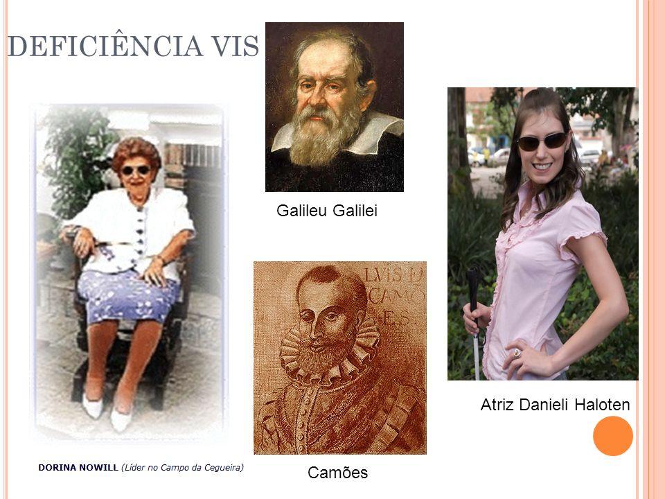 Atriz Danieli Haloten Camões Galileu Galilei