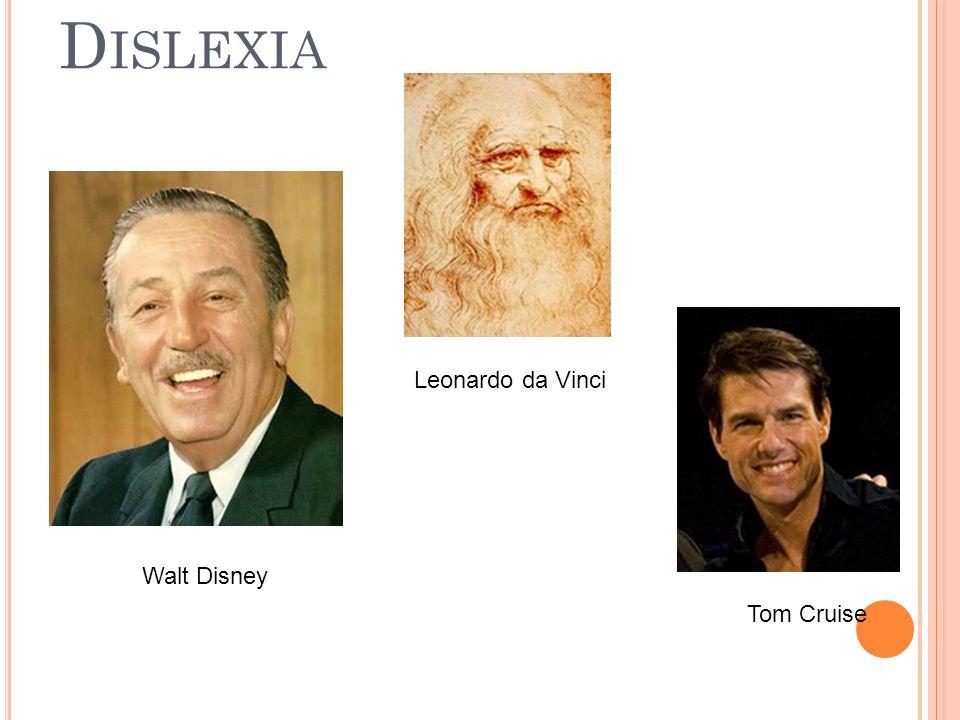 Walt Disney Tom Cruise Leonardo da Vinci