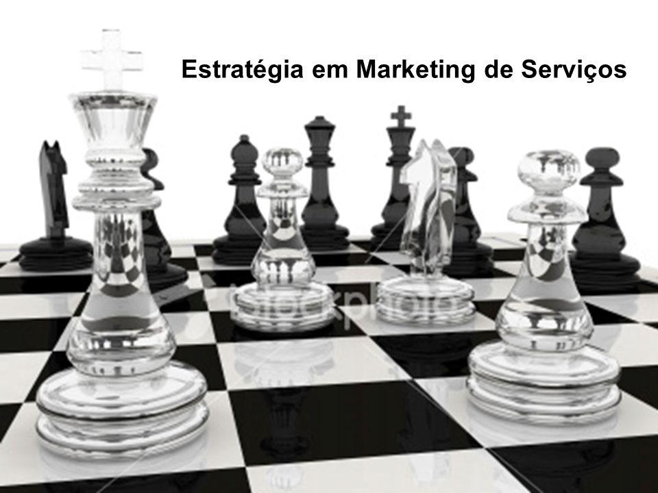 Marketing de Serviços Profa. Camila Krohling Colnago Estratégia em Marketing de Serviços