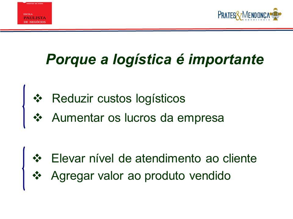 Outras Competências dos Operadores Logísticos Apurar sistematicamente os indicadores de desempenho adequados a cada fase de seus serviços.