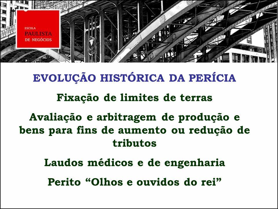 ETAPAS DO TRABALHO PERICIAL Dinâmica da Assistência Técnica 1.
