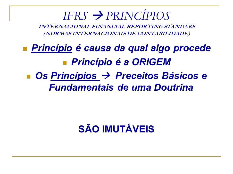 DEMONSTRAÇÃO DO FLUXO DE CAIXA - DFC INDICARÁ NO MÍNIMO: - As alterações ocorridas, durante o exercício, no saldo de caixa e equivalentes de caixa, segregadas no mínimo em três fluxos: - das operações - dos financiamentos - dos investimentos.