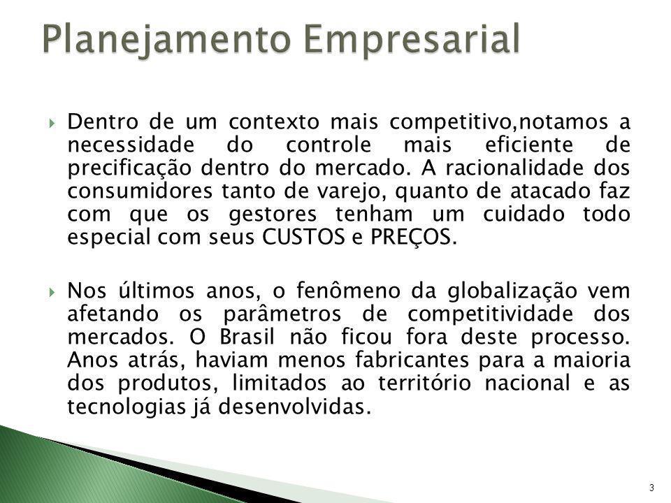 34 Cálculo do Preço de Venda com base no custo (Mark-up) Fórmula do Mark-up : PVVmín = CTu x M-Up, onde: PVVmin = Preço de Venda a Vista Mínimo a Ser praticado CTu = Custo Total Unitário do Produto M-Up = Mark-up Obs: Para a formação do Mark-up, é importante lembrar que no Brasil, temos dois tipos de impostos que são: Os impostos incidentes sobre a comercialização do produto e os impostos que incidem sobre o lucro, conforme exemplo a seguir:
