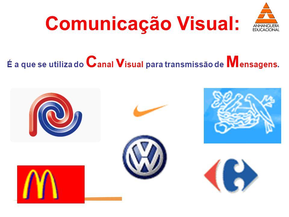 18 É a que se utiliza do C anal v isual para transmissão de M ensagens. Comunicação Visual: