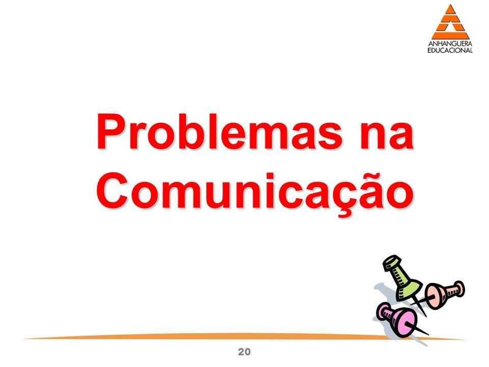 20 Problemas na Comunicação