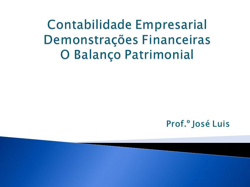 O Balanço Patrimonial consiste em um conjunto de informações sistematizadas.