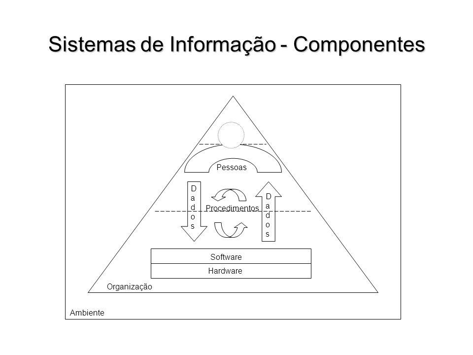 Sistemas de Informação - Dimensões A área de conhecimento de sistemas de informação (SI) abrange o estudo da disponibilização da informação dentro das organizações.