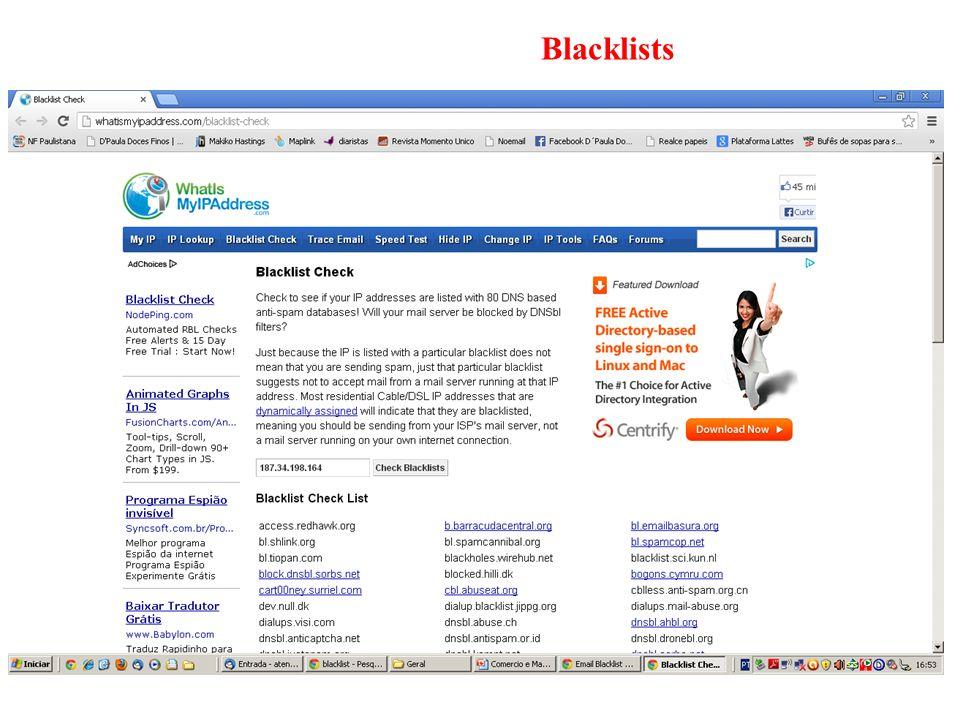 Blacklists