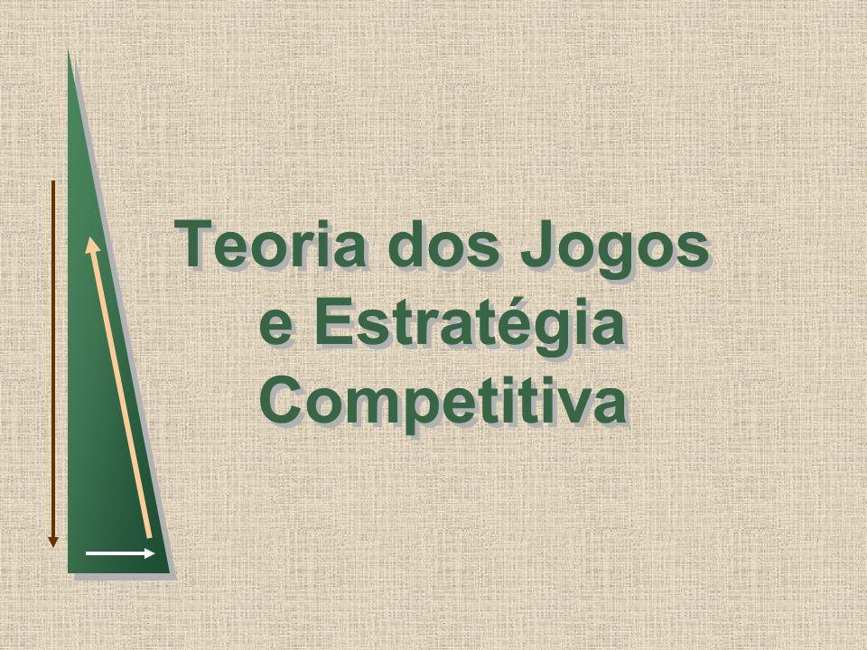 Teoria dos Jogos e Estratégia Competitiva