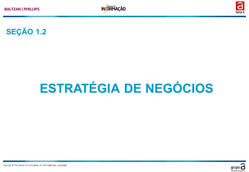 Capítulo 1 Copyright © The McGraw-Hill Companies, Inc.