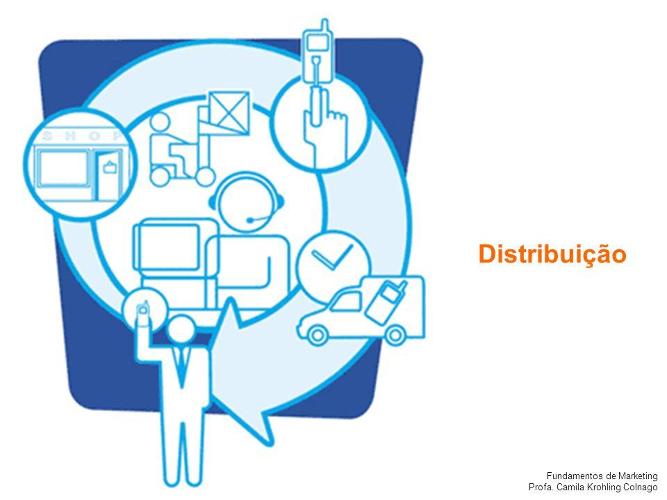 Fundamentos de Marketing Profa. Camila Krohling Colnago Distribuição