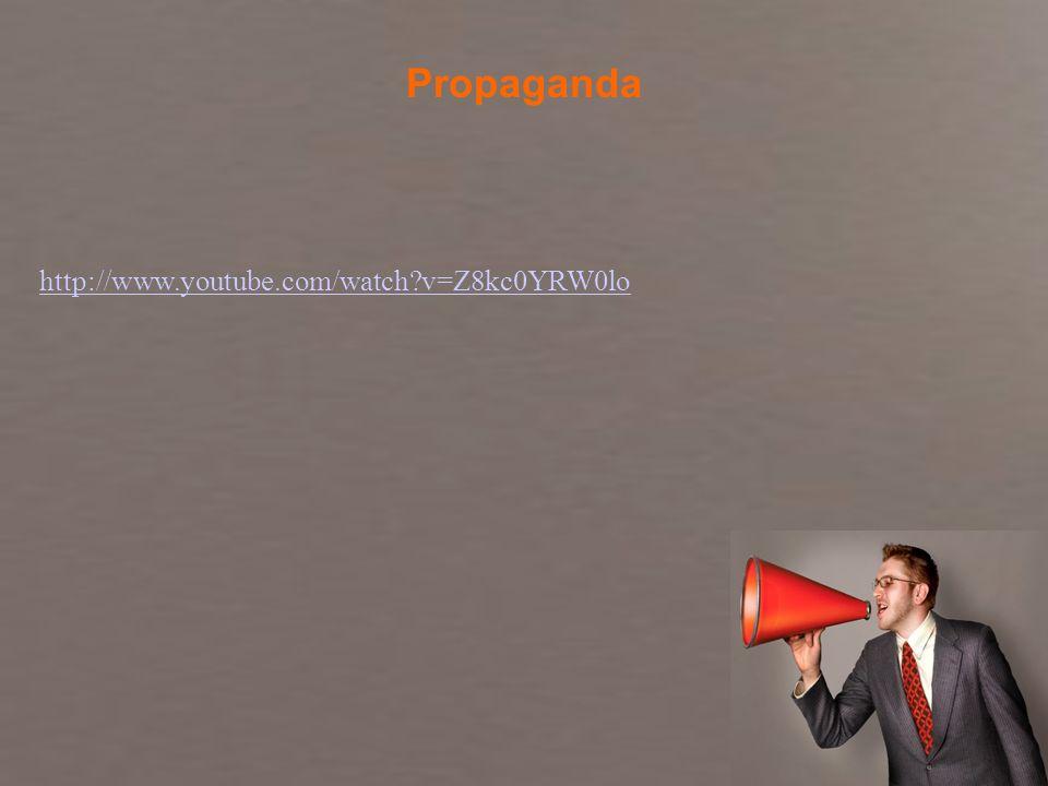 Fundamentos de Marketing Profa. Camila Krohling Colnago http://www.youtube.com/watch?v=Z8kc0YRW0lo Propaganda