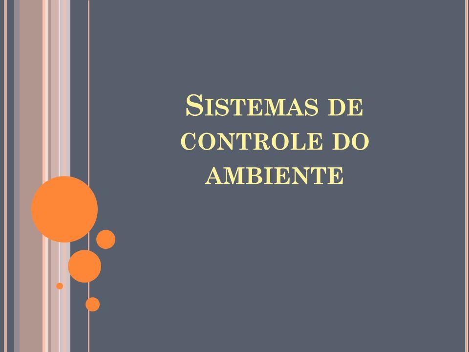 S ISTEMAS DE CONTROLE DO AMBIENTE