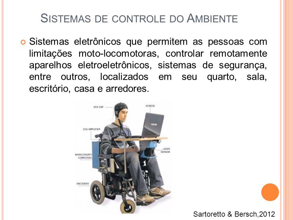 Sistemas eletrônicos que permitem as pessoas com limitações moto-locomotoras, controlar remotamente aparelhos eletroeletrônicos, sistemas de segurança
