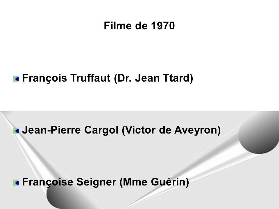 Filme de 1970 François Truffaut (Dr.