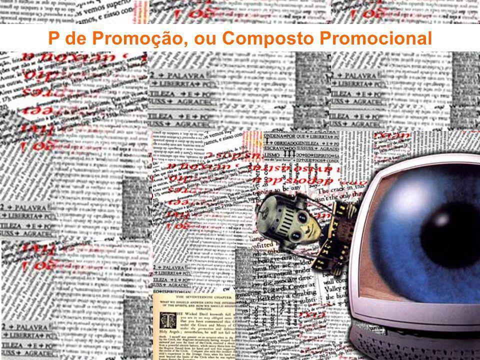 Fundamentos de Marketing Profa. Camila Krohling Colnago P de Promoção, ou Composto Promocional