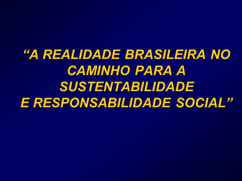 A REALIDADE BRASILEIRA NO CAMINHO PARA A SUSTENTABILIDADE E RESPONSABILIDADE SOCIAL