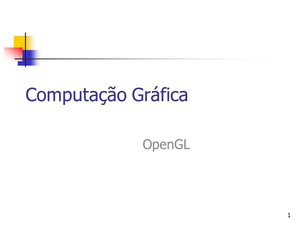 1 Computação Gráfica OpenGL