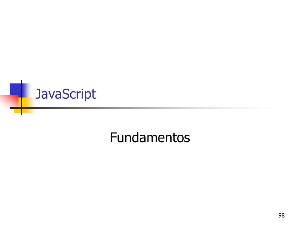 98 JavaScript Fundamentos