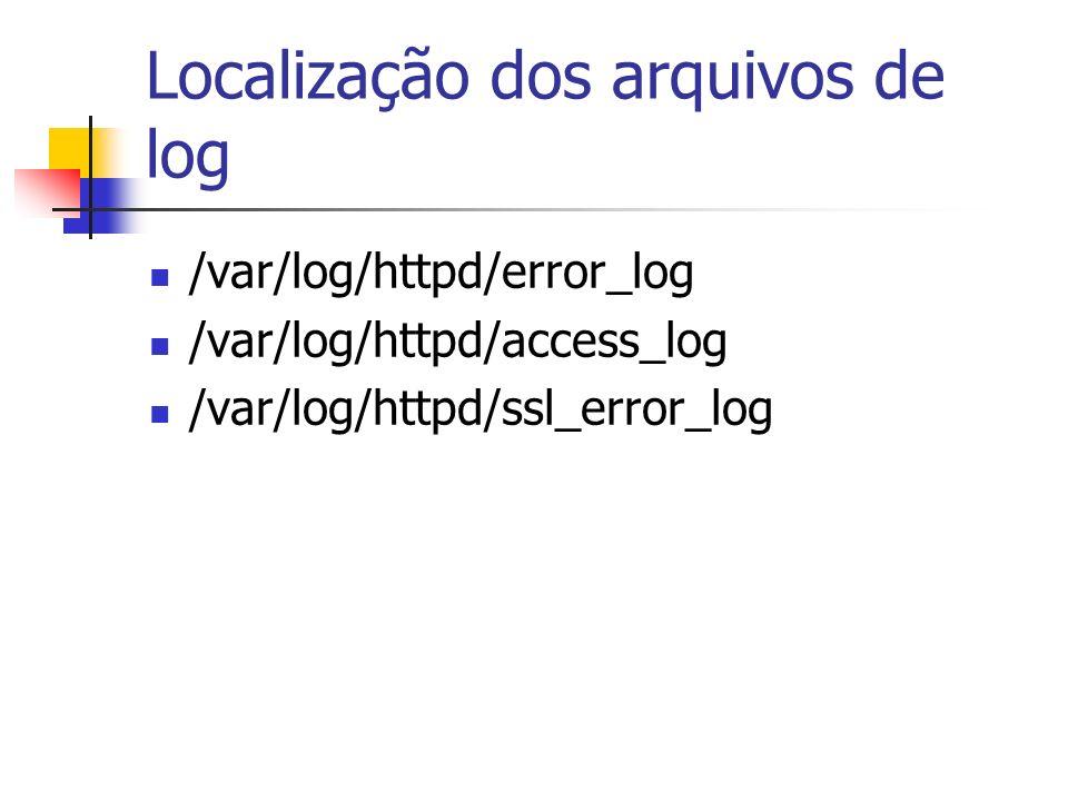 Configuração do SAMBA /etc/samba/smb.conf /sbin/service smb {status start stop} /sbin/chkconfig –level 345 smb on