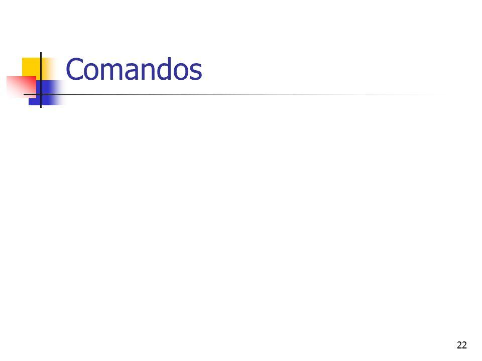 22 Comandos