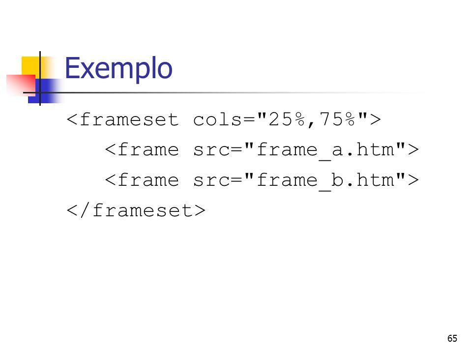 65 Exemplo