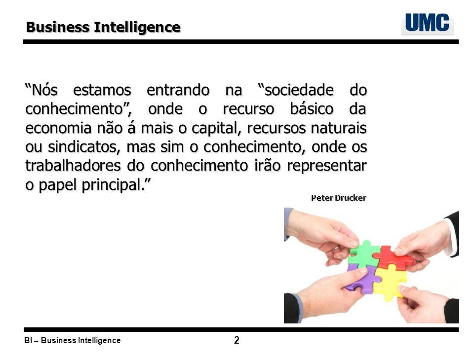 BI – Business Intelligence 23 Fornecedores de BI